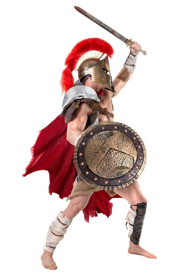 Soldat ou gladiateur antique photographie stock
