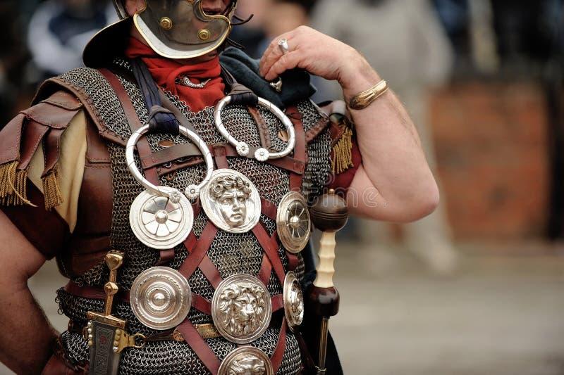 Soldat romain photographie stock libre de droits