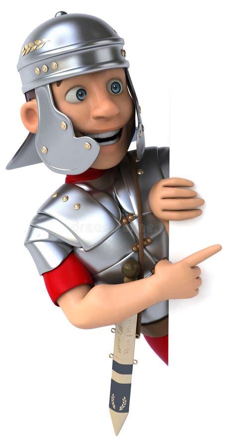 soldat romain de légionnaire illustration stock