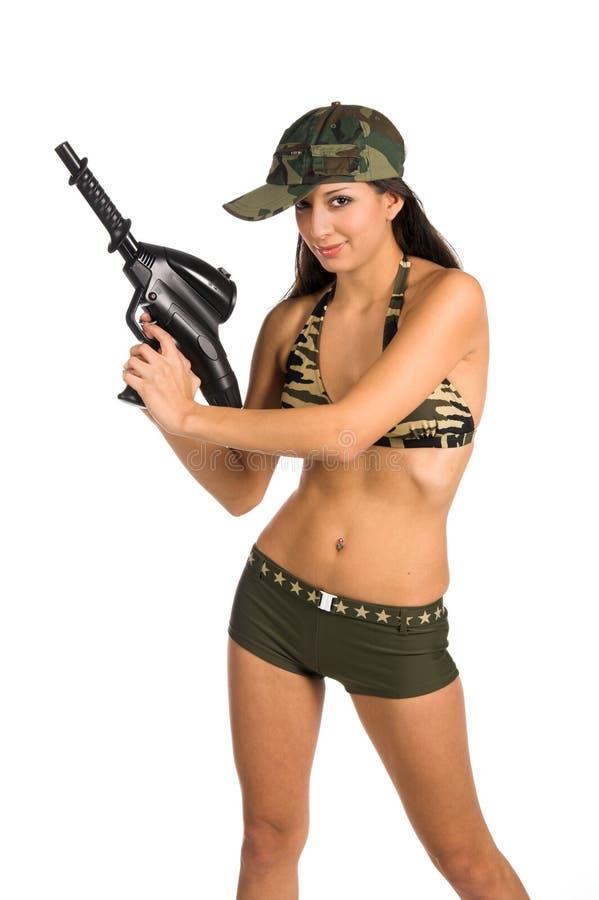Soldat sexy images libres de droits