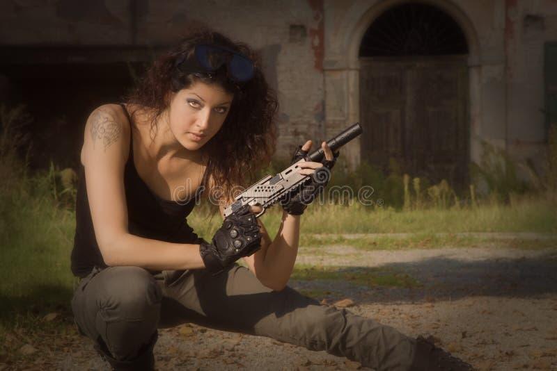 Soldat Silvia photographie stock