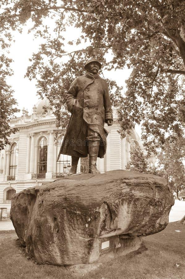 Soldat Statue arkivfoto