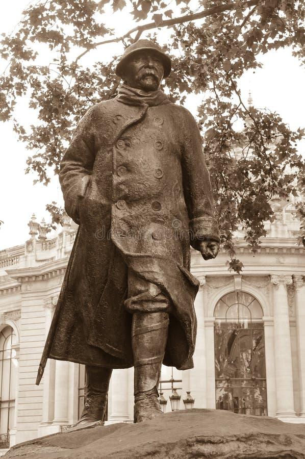 Soldat Statue royaltyfri fotografi