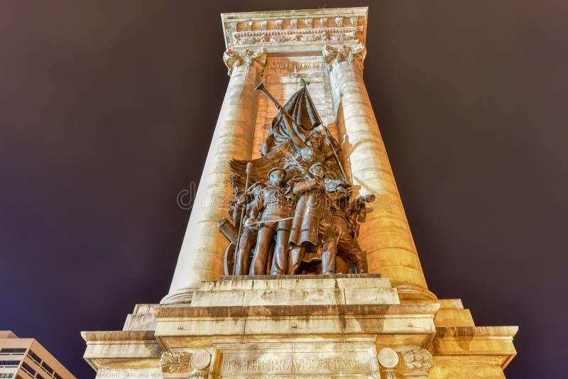 Soldaten ` und Seeleute ` Monument lizenzfreies stockfoto