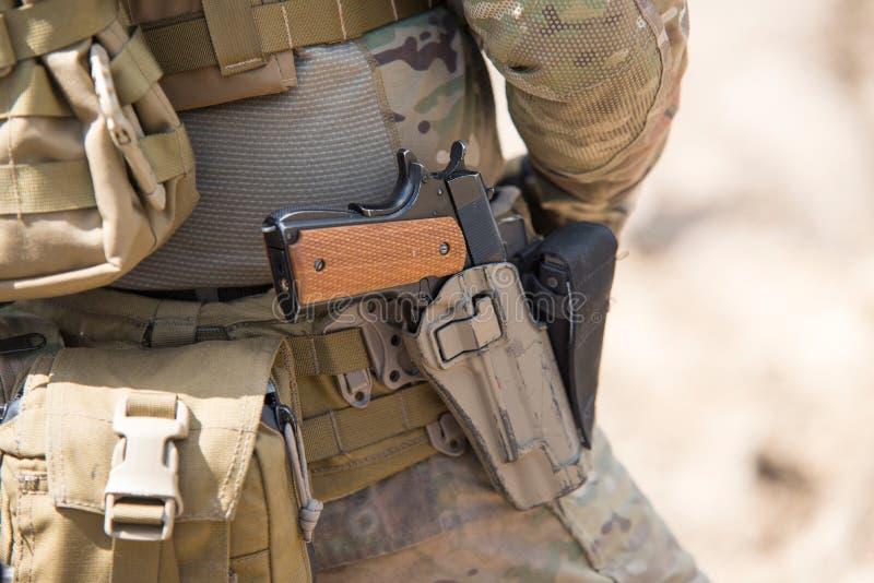 Soldater i enhetliga specialförband för USA-armé arkivbilder