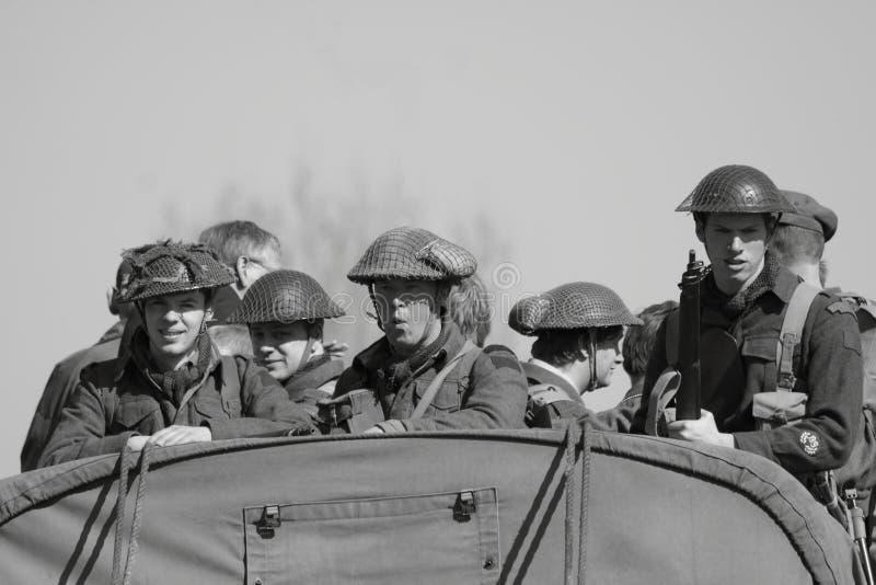 soldater ii kriger världen royaltyfri fotografi