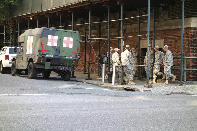 Soldati americani immagini stock
