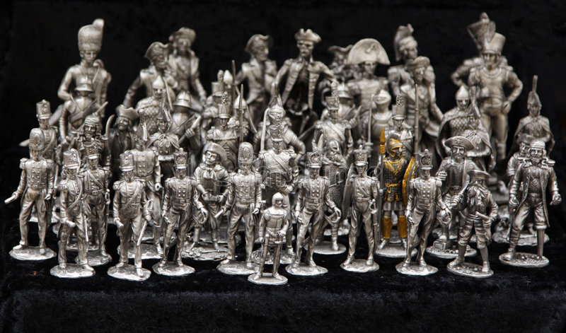 Soldati del cavo immagine stock libera da diritti
