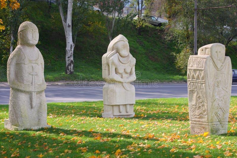 Soldati di pietra immagine stock libera da diritti