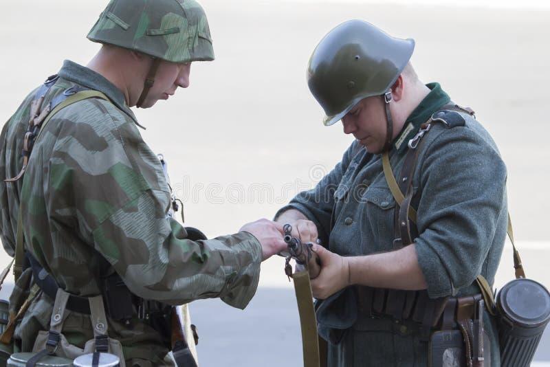 Soldati tedeschi fotografia stock
