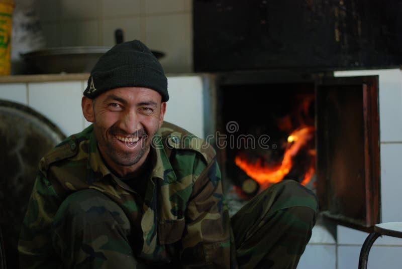 Soldato afgano immagini stock libere da diritti