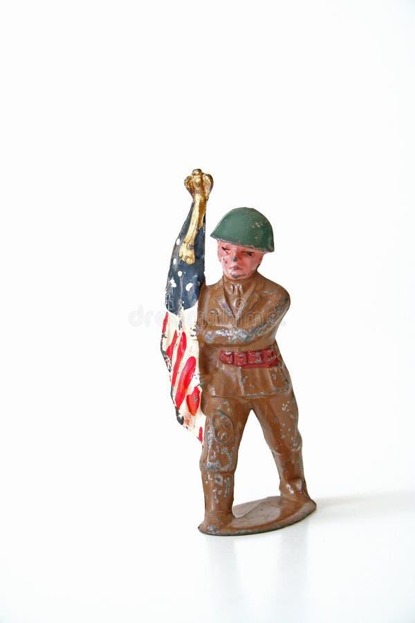 Soldato anziano fotografie stock
