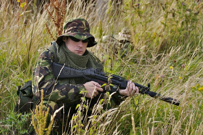 Soldato britannico fotografia stock libera da diritti