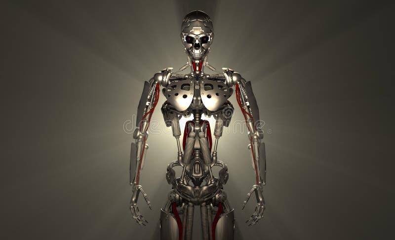 Soldato del robot illustrazione di stock