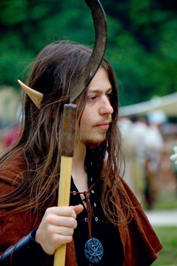 Soldato dell'elfo fotografia stock libera da diritti