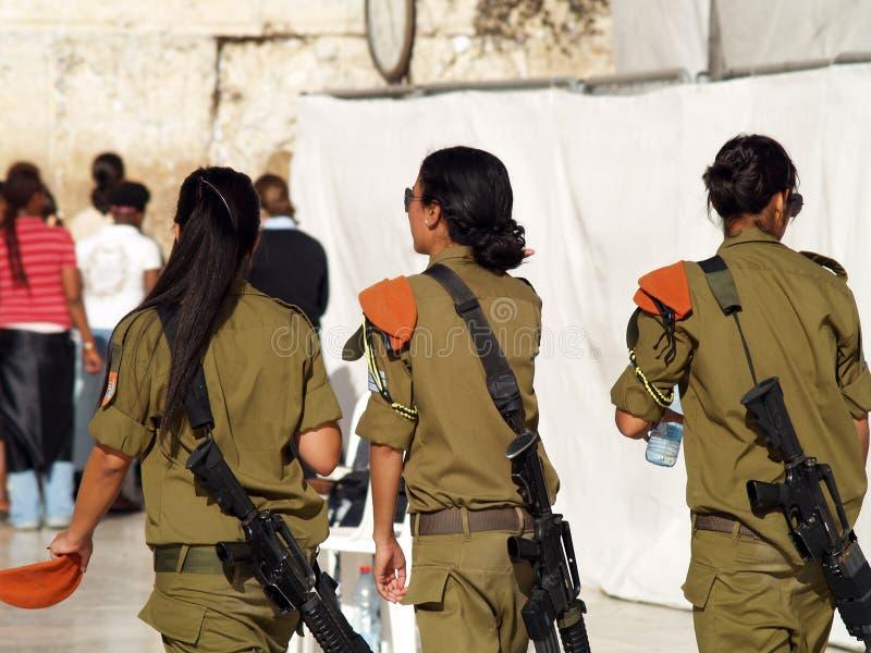 Soldato delle donne dell'IDA fotografia stock libera da diritti