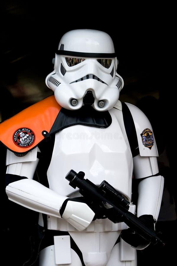 Soldato di cavalleria di Star Wars immagine stock