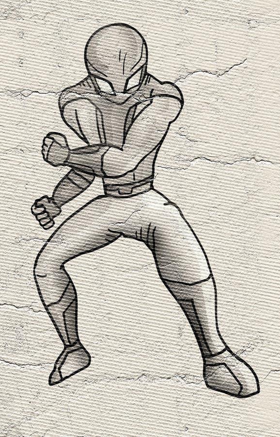 Soldato futuro illustrazione vettoriale