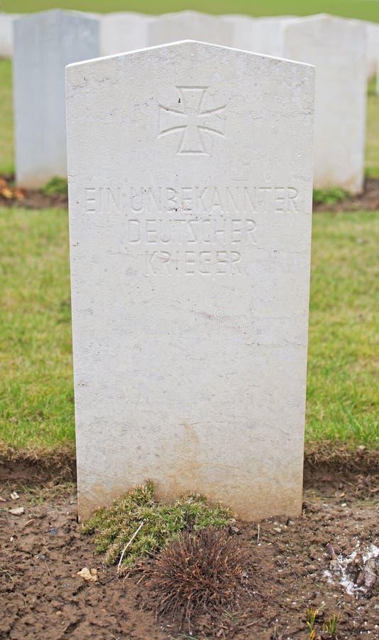 Soldato tedesco sconosciuto fotografie stock