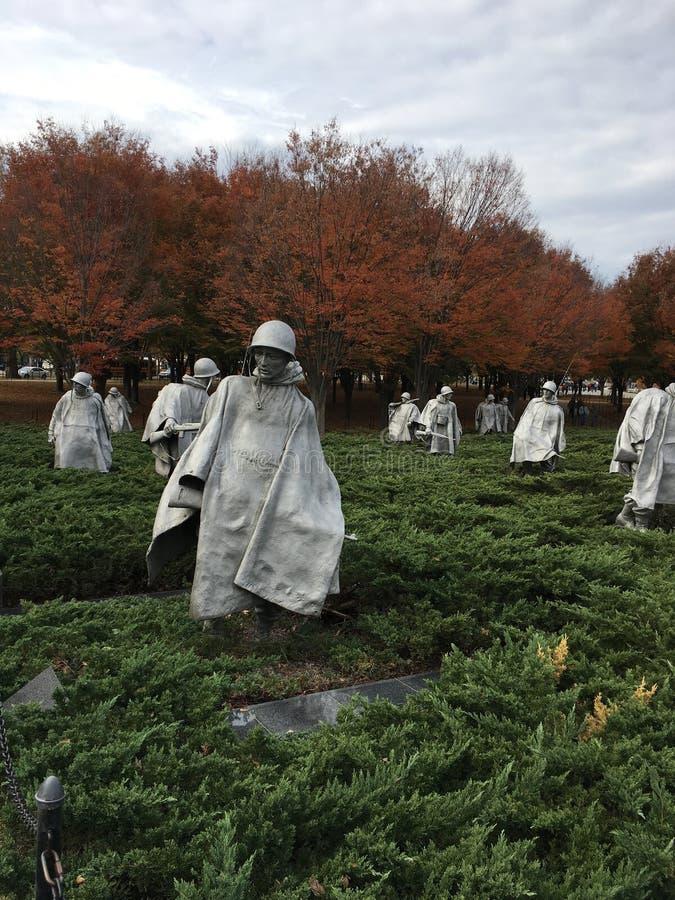 Soldats de chute photo libre de droits