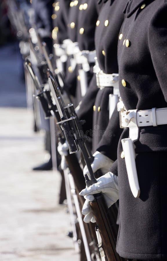 Soldats de marine photos stock