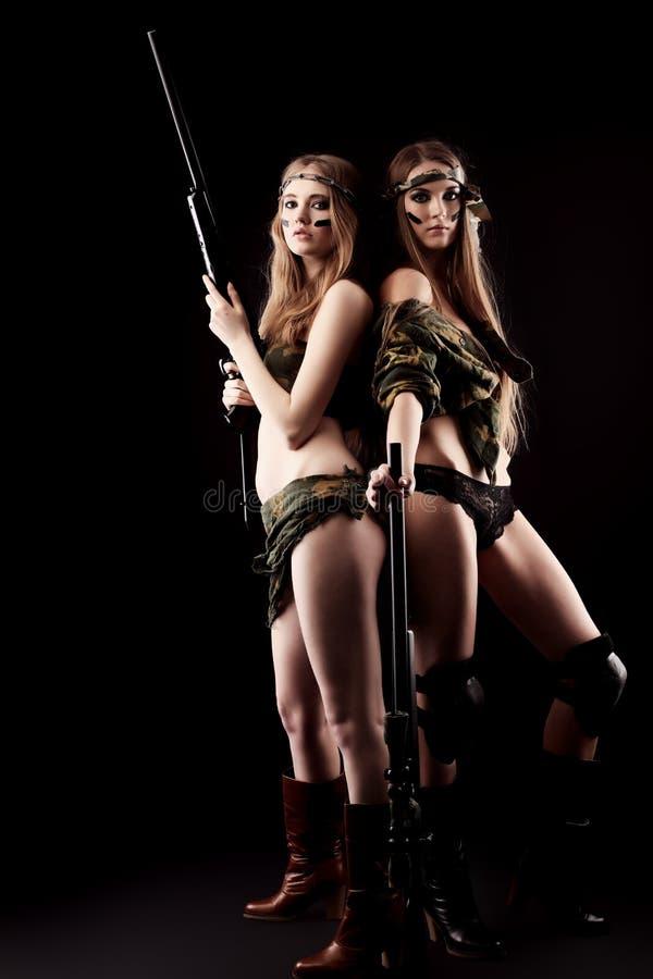 Soldats gracieux photographie stock