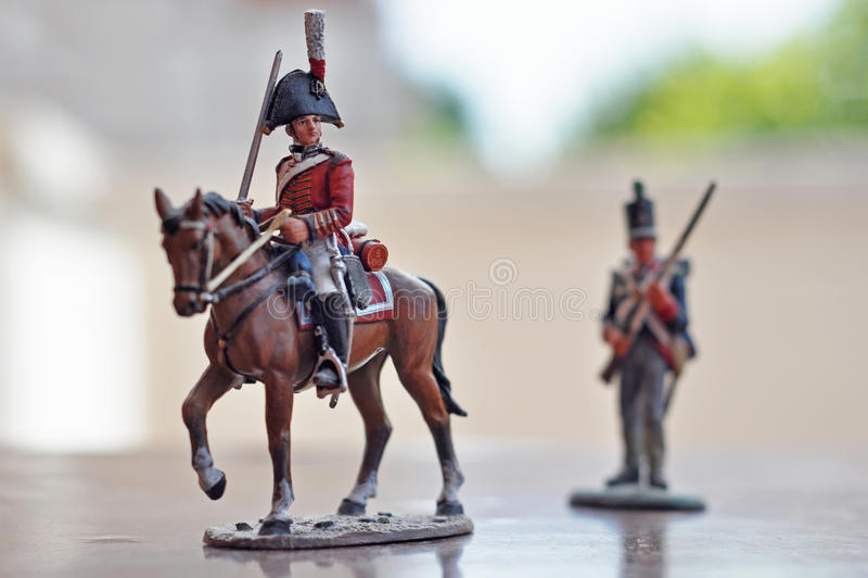 soldattoy arkivfoton