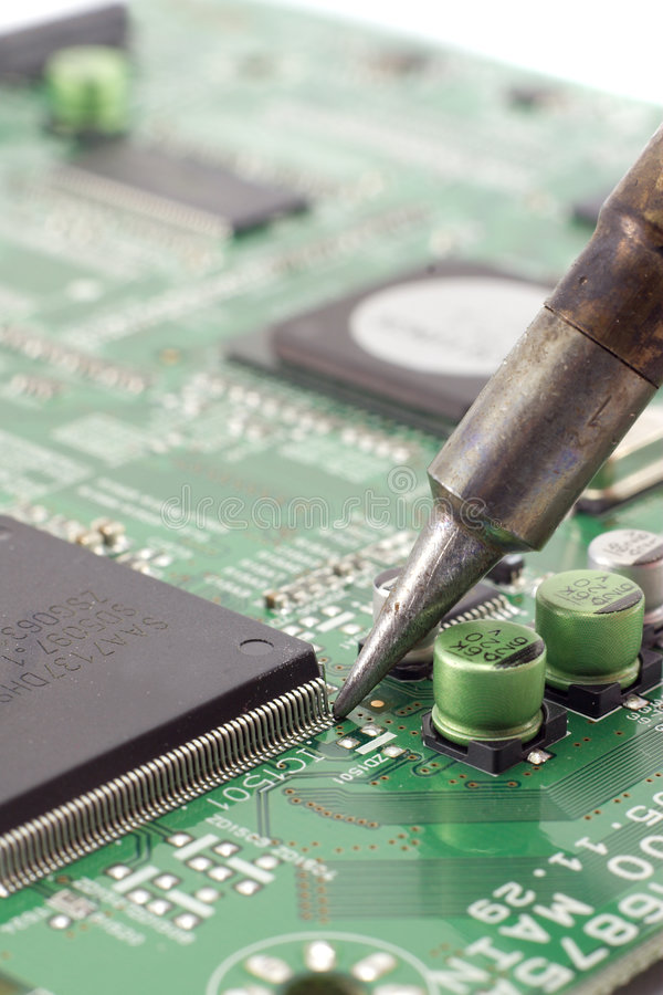 Soldering Royalty Free Stock Images