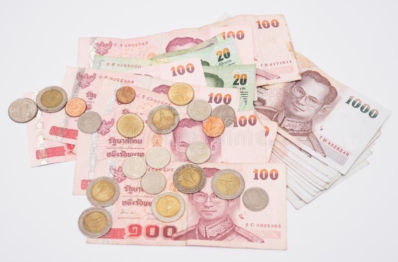 Soldi di regno della Tailandia immagine stock