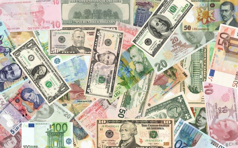 Soldi e soldi immagini stock