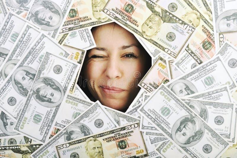 Soldi, soldi, soldi… immagine stock libera da diritti