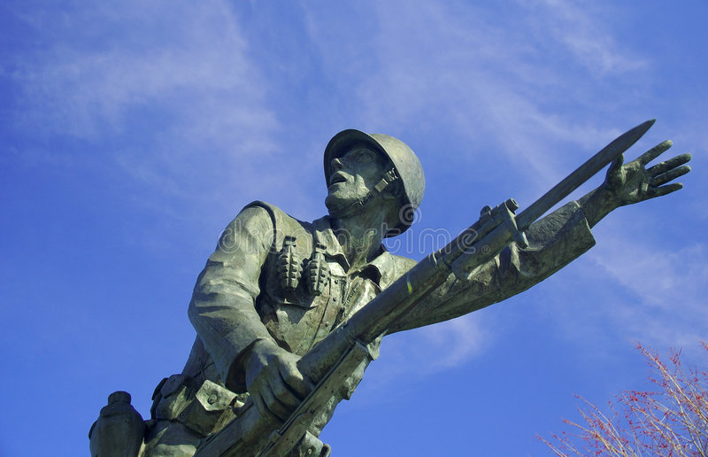Download Soldier stock photo. Image of statue, service, sculpture - 104954