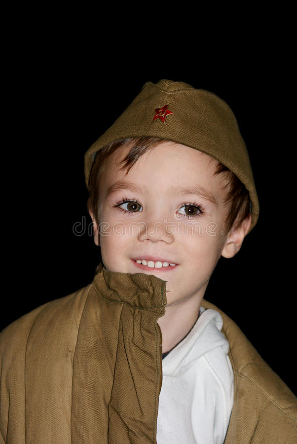 Download The soldier stock photo. Image of caucasian, child, serviceman - 18265350