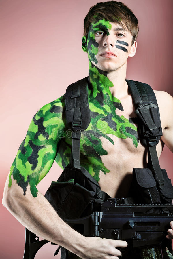 Soldier royalty free stock photo