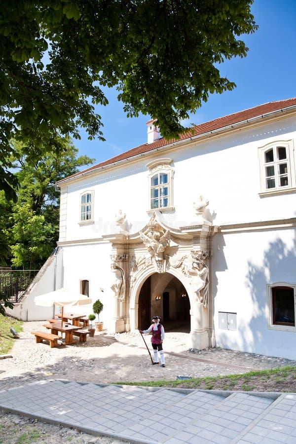 Soldier at Alba Iulia Fortress royalty free stock photos