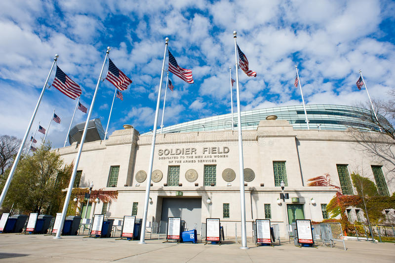 Soldier Field Editorial Photo