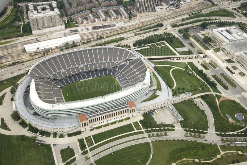 Download Soldier Field editorial stock photo. Image of tourism - 6384748