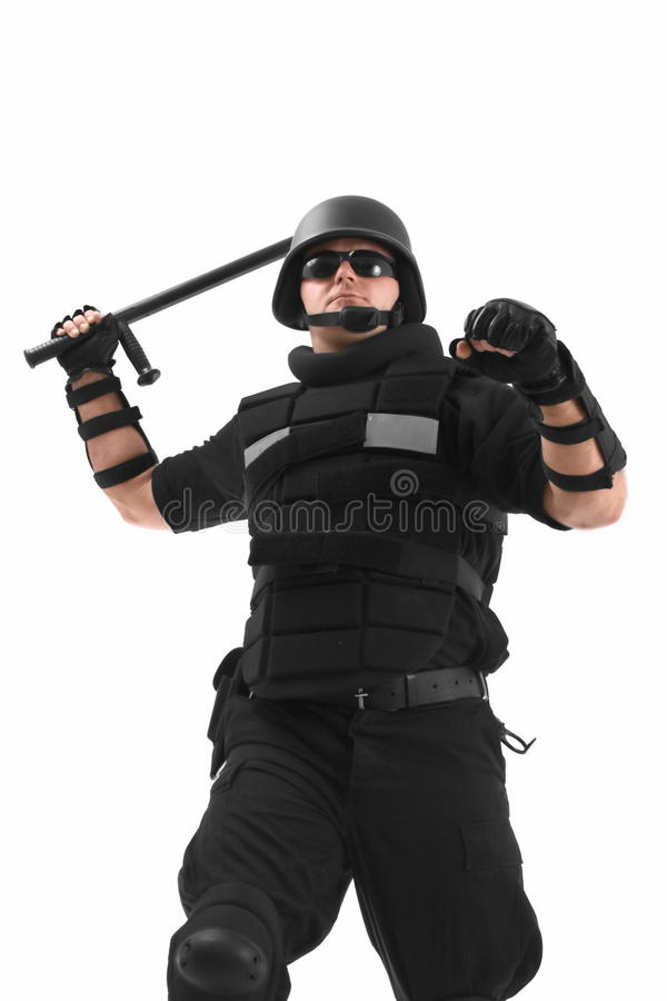 Soldier fighting royalty free stock photo
