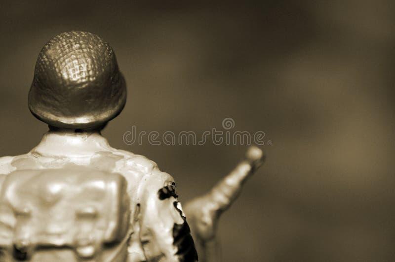 Soldier figure stock photos