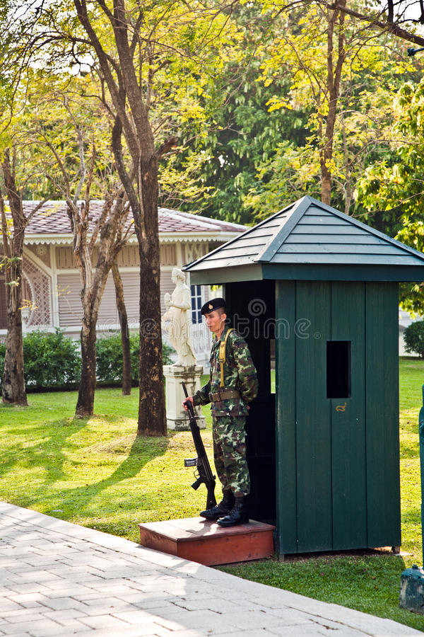Soldier Of The Kings Guards Editorial Stock Photo
