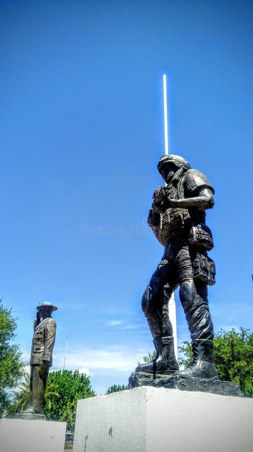 Soldier& x27; s nagroda fotografia royalty free