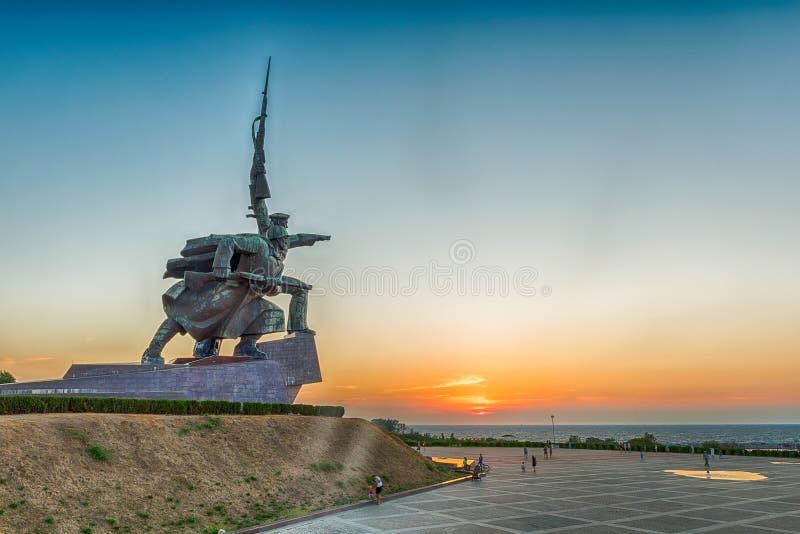 Soldier and Sailor Memorial to Heroic Defenders of Sevastopol, stock images
