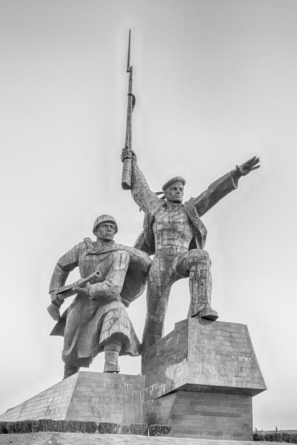 Soldier and Sailor Memorial to Heroic Defenders of Sevastopol, stock photos