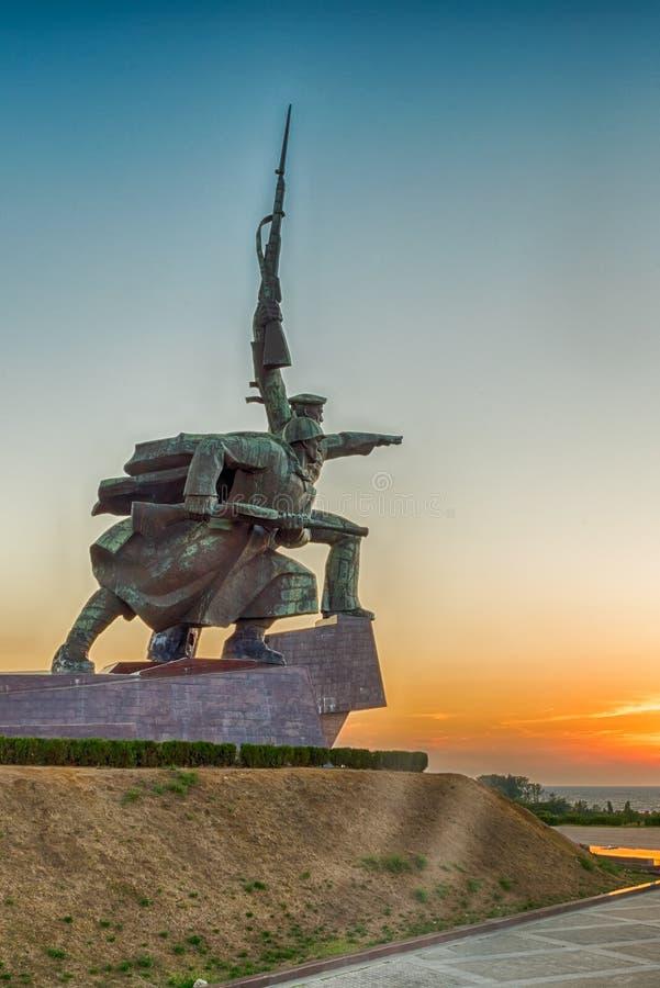 Soldier and Sailor Memorial to Heroic Defenders of Sevastopol, royalty free stock images