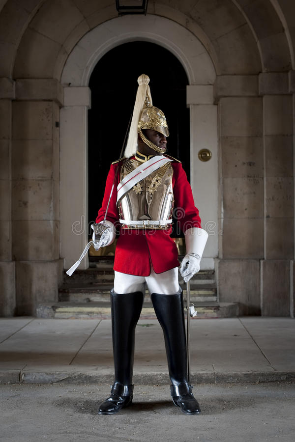 Free Soldier Standing Guard In Horse Guards In London Royalty Free Stock Photo - 15489855