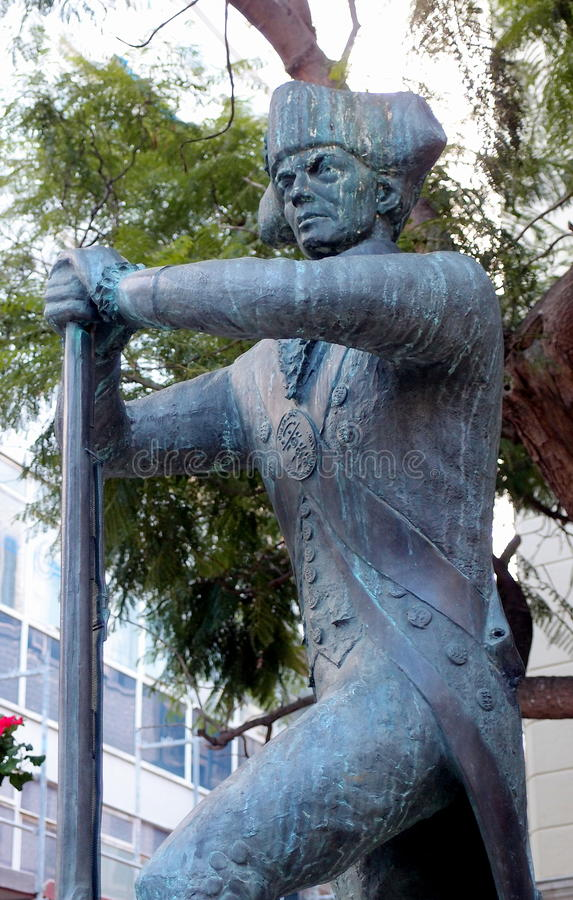 Free Soldier Statue Stock Images - 80224554