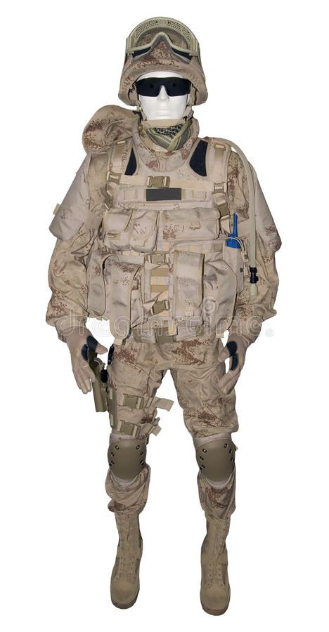 Soldier uniform royalty free stock image