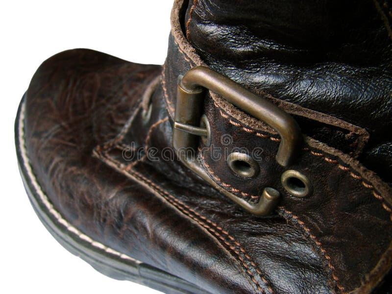 soldierly sko arkivbild