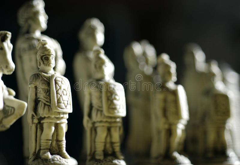 Download Soldiers stock photo. Image of pieces, sculptures, chess - 11331960