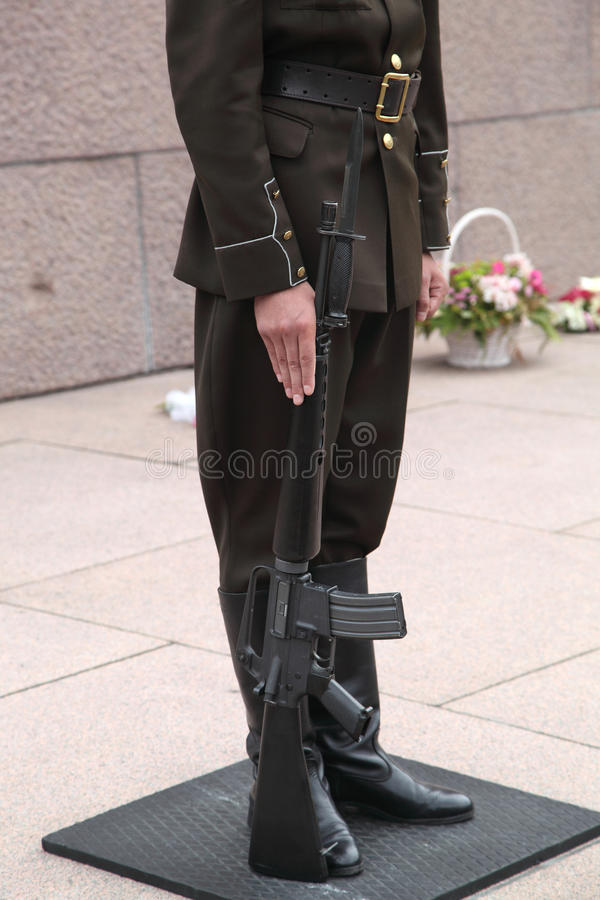 Soldiers Stock Image